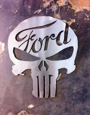 Ford Skalle i Rostfritt