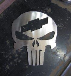 Chevy Skalle i Rostfritt