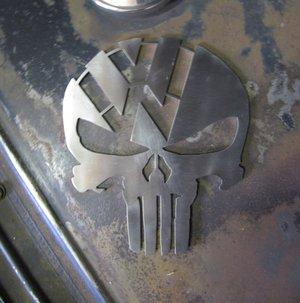 VW Skalle i Rostfritt
