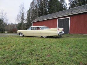 Fästsats Bak Cadillac 58-64