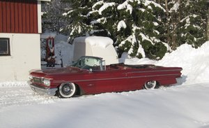 Fästsats Fram Pontiac Bonneville 59-60