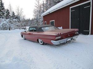 Fästsats Bak Pontiac 59-60