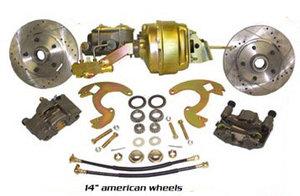 Skivbromssats Chevy 64-72